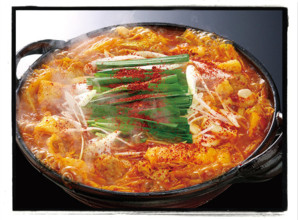 赤から鍋定食 1