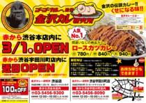 3月1日〜カレー販売