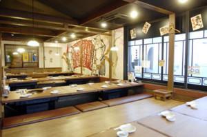 最大48名様収容可能 東刈谷店自慢の大宴会場