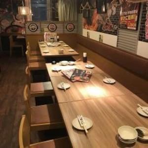 テーブル席2名~14名