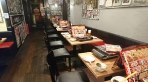 テーブル席!!